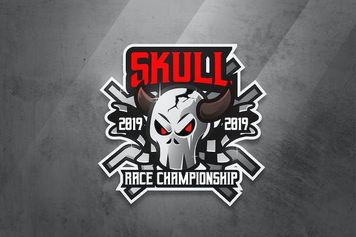 Thumbnail for Skull Race - Mascot & Esport Logo