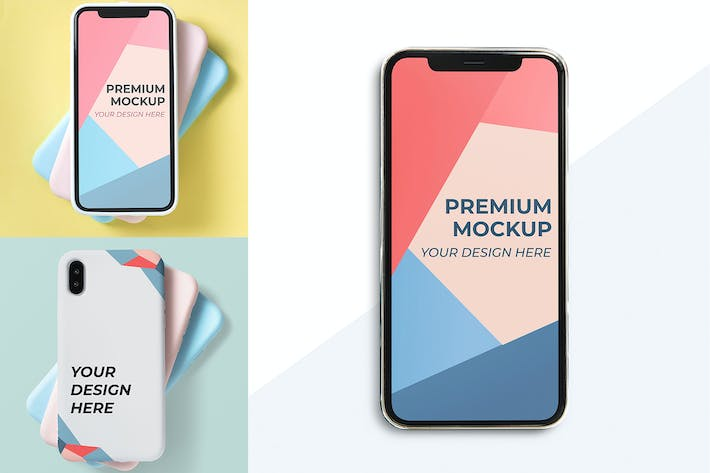 Thumbnail for Mobile Design Mockup