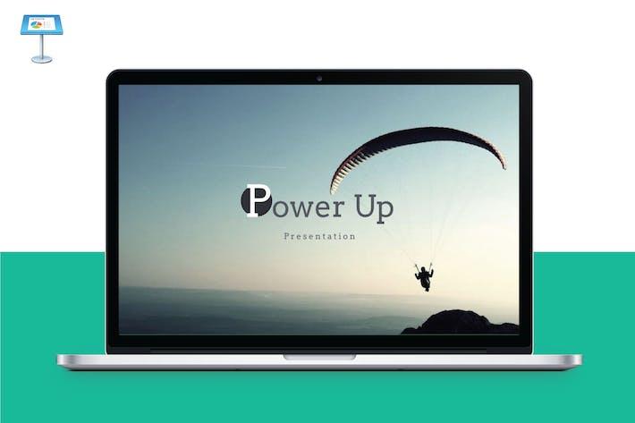 Thumbnail for POWER UP - Multipurpose Keynote Template V6