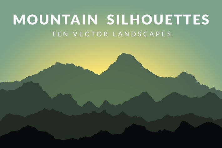 Thumbnail for Mountain Silhouettes