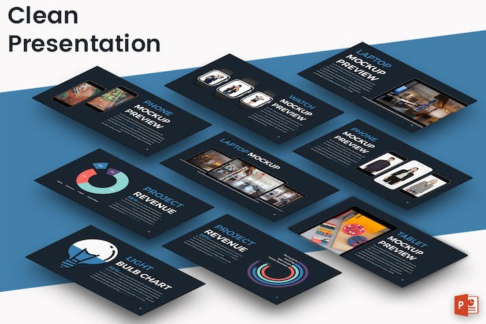 Thumbnail for CLEAN - Powerpoint Presentation Template