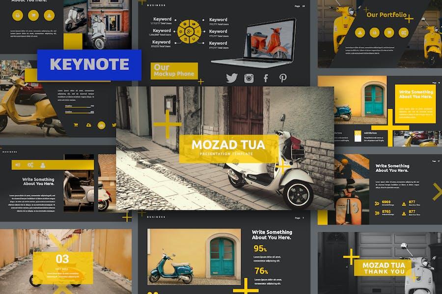 Мозад Туа Творческий Keynote