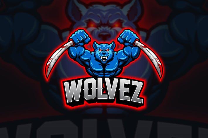 Thumbnail for Wolf - Mascot & Esport Logo