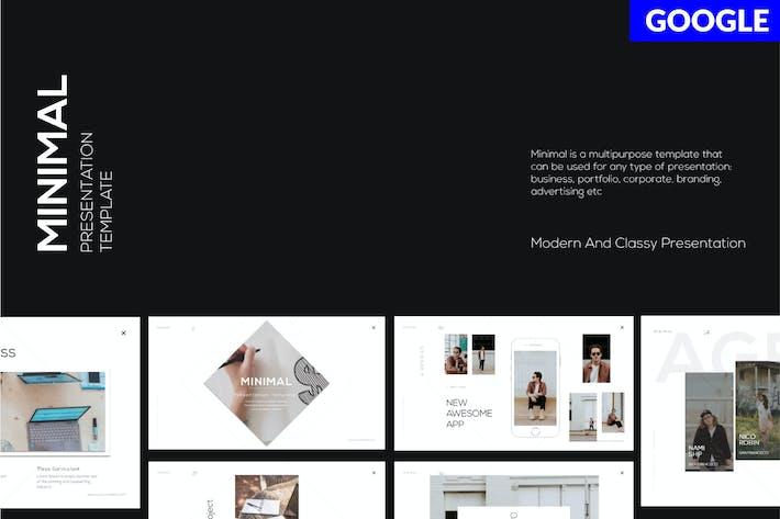 Thumbnail for MINIMAL Business Googleslide - LS