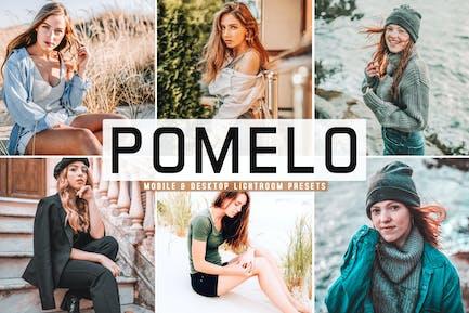Pomelo Mobile & Desktop Lightroom Presets