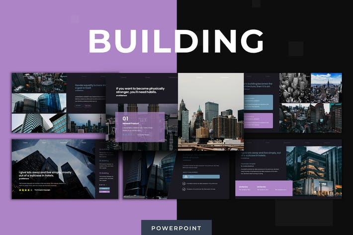 Thumbnail for Building - Powerpoint Template