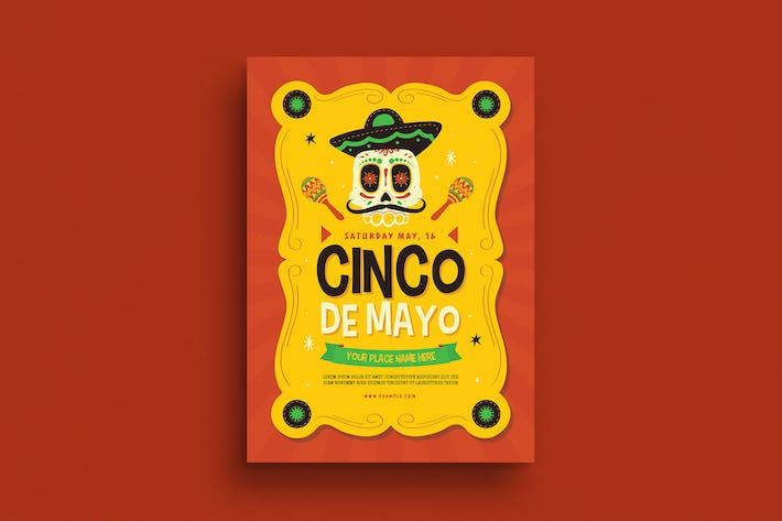 Thumbnail for Cinco De mayo Event Flyer