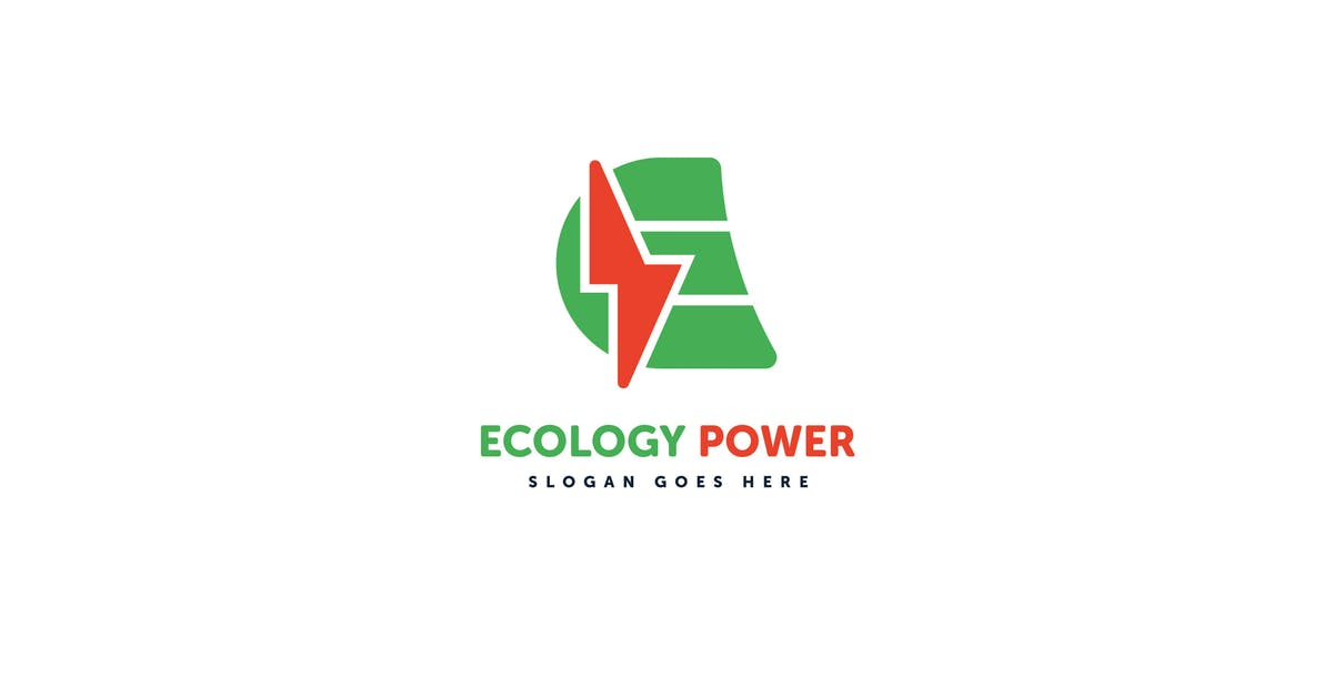 Download Ecology Power E Letter Logo Vector Template by Pixasquare