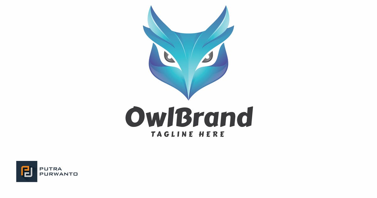Download Owl Brand - Logo Template by putra_purwanto