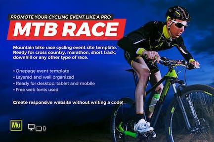 MTB Race - Mountain Bike Racing / Cycling site