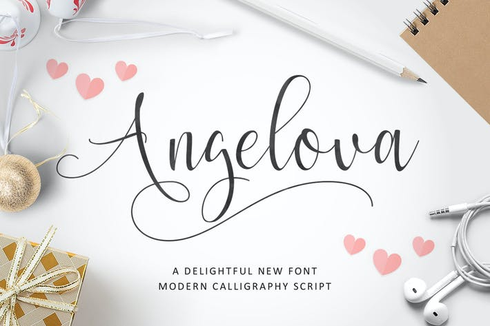 Thumbnail for Angelova Script