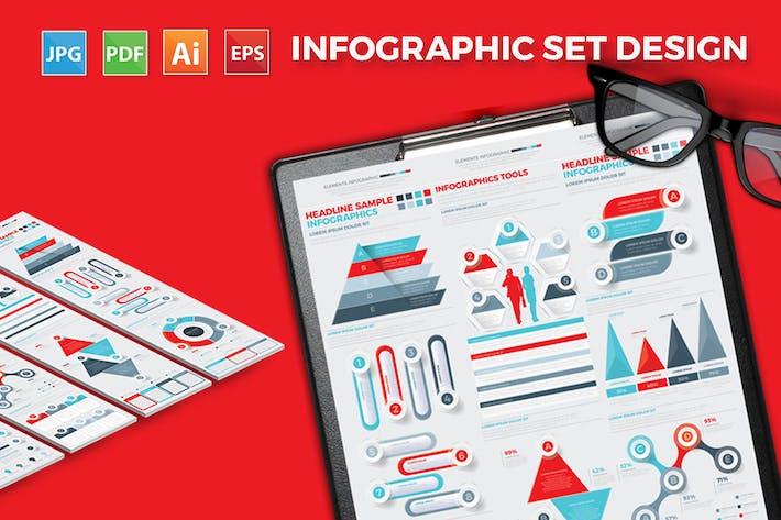 Thumbnail for Big Infographics Elements Design