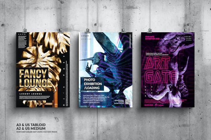 Thumbnail for Music Event Big Poster Design Set