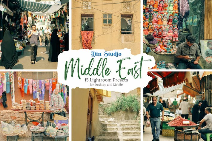 Thumbnail for Middle East Lightroom Presets