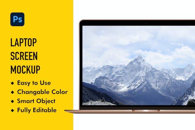 YDM Laptop Mockup 2