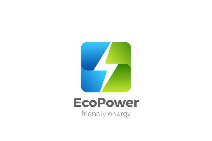 Thumbnail for Green Energy Logo Alternative Power Flash icon