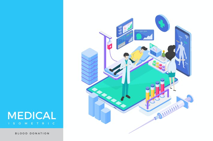 Thumbnail for Blood Donation Isometric