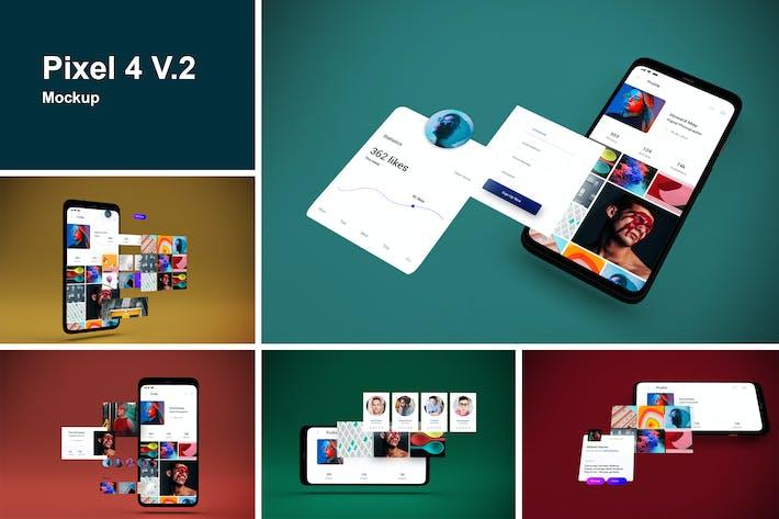 Thumbnail for Pixel 4 Mockup V.2