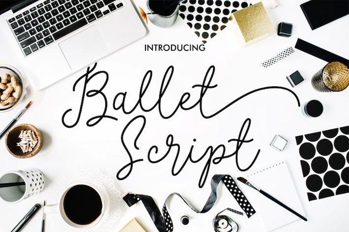 Thumbnail for Ballet Script