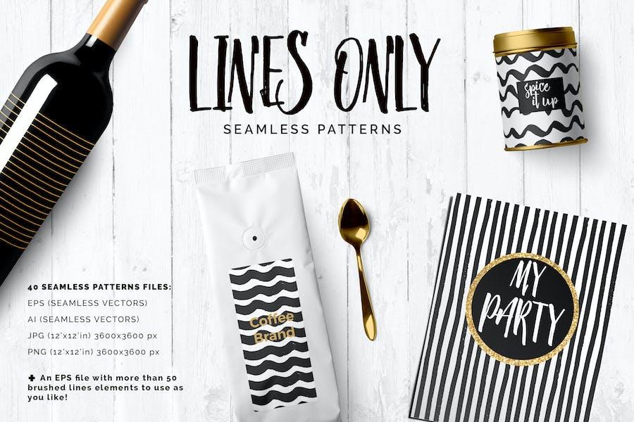 Handdrawn Lines Patterns