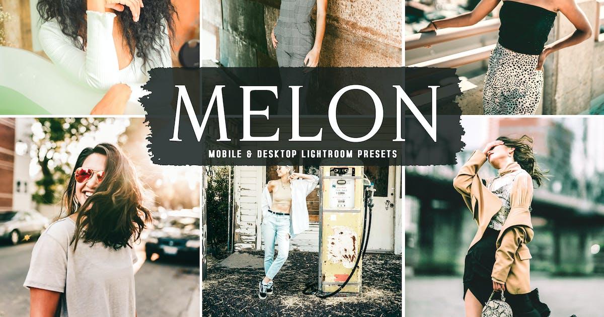 Download Melon Mobile & Desktop Lightroom Presets by creativetacos