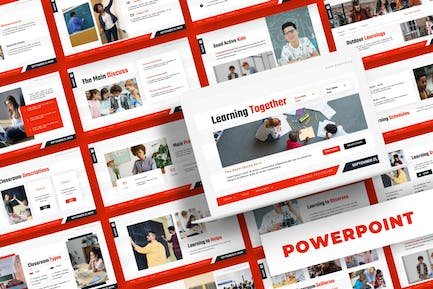 Learning System - Powerpoint Template