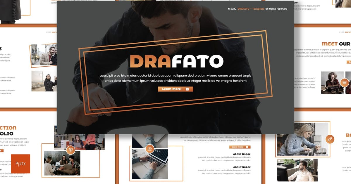 Download Drafato - Creative Powerpoint Template by inspirasign