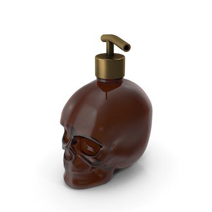 Dark Medical - Botella de cristal con dispensador dorado