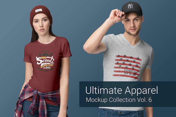 Cover Image For Ultimate Apparel Mockup Vol. 6
