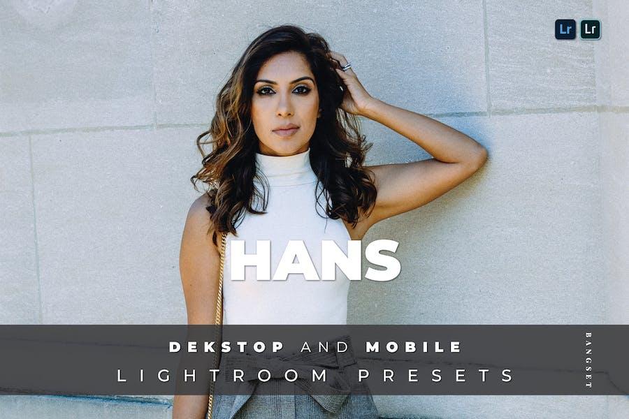 Hans Desktop and Mobile Lightroom Preset