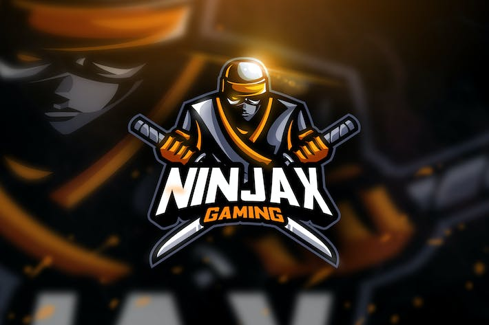 Thumbnail for Ninjax Gaming - Mascot & Esport Logo
