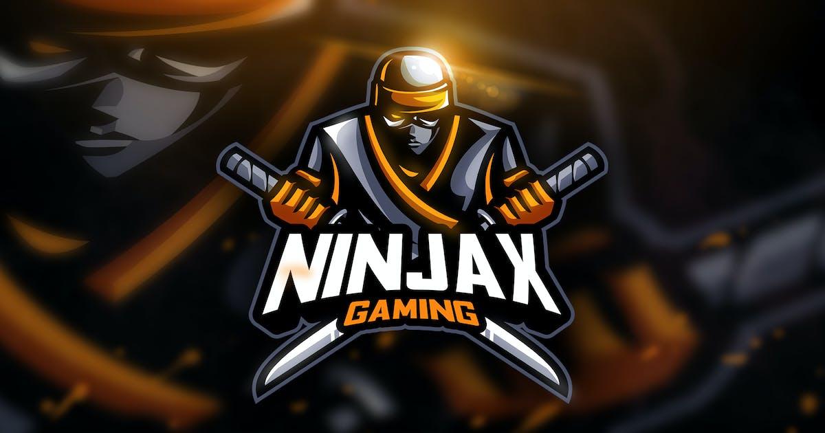 Download Ninjax Gaming - Mascot & Esport Logo by aqrstudio