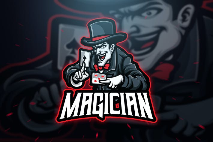 Thumbnail for Magician Sport and Esport Logo Template