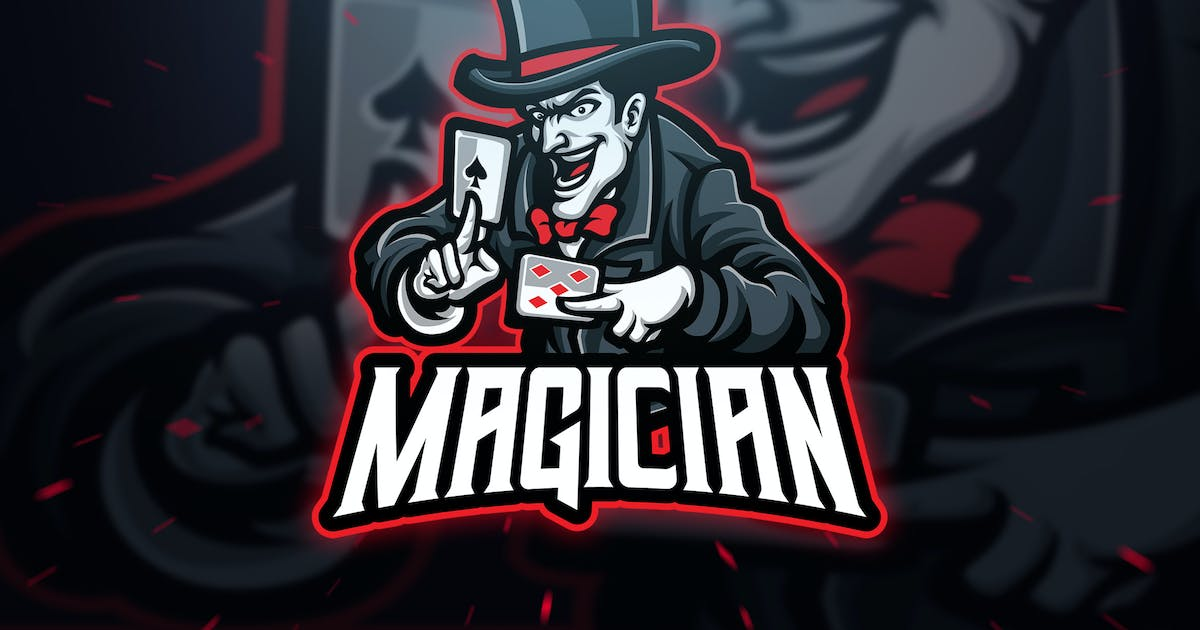 Download Magician Sport and Esport Logo Template by Blankids