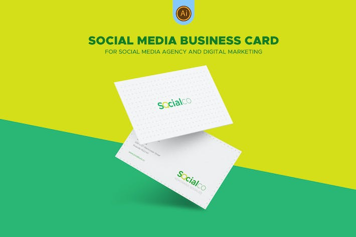 Thumbnail for Social Media Business Card 04