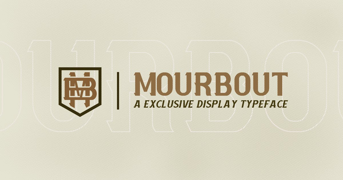 Download Mourbout - NFC Font Family by ovozdigital