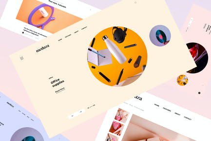 Meduza | HTML Template For Blog & Shop