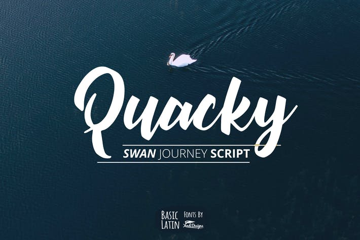 Thumbnail for Quacky Font
