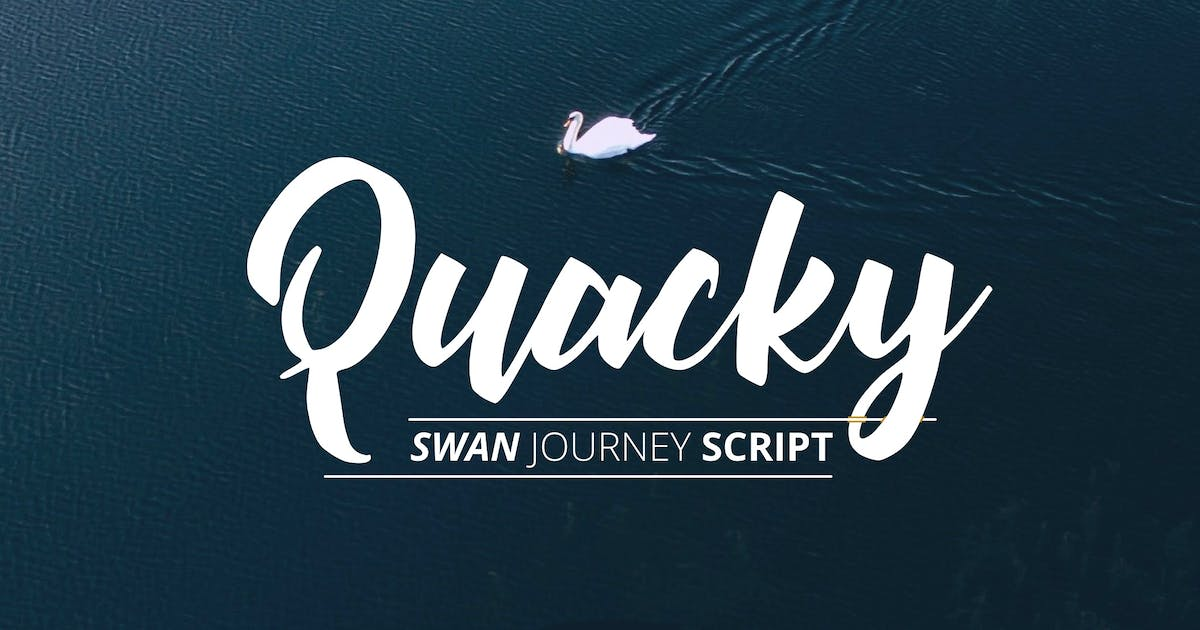 Download Quacky Font by yandidesigns