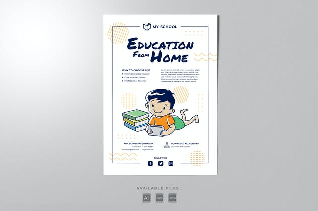 Kids Education Poster