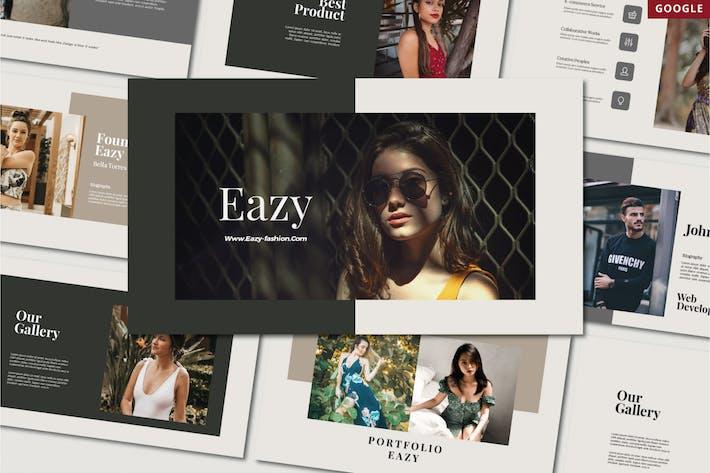 Thumbnail for Eazy - GOOGLE SLIDE