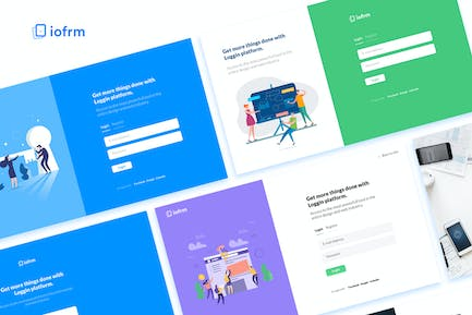 Iofrm - Login and Register Form Templates