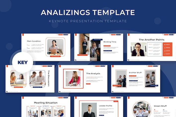 Thumbnail for Analyzing - Keynote Template