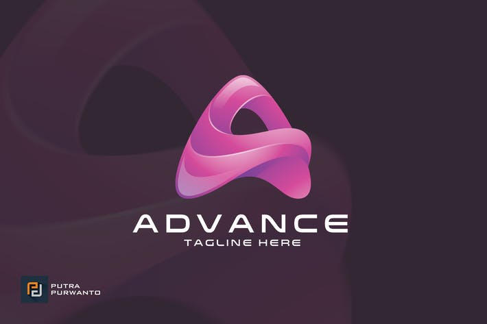 Thumbnail for Advance / Letter A - Logo Template