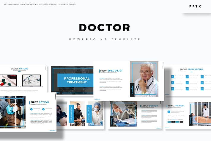 Thumbnail for Doctor - Powerpoint Template