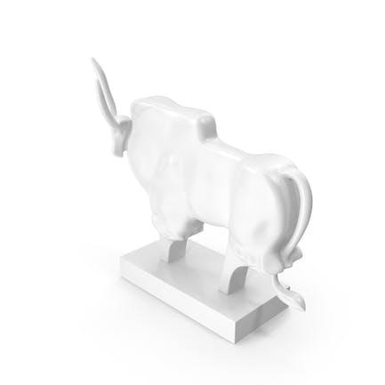 Sculpture African Buffalo