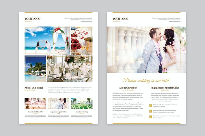 Thumbnail for Flyer – Hotel for Wedding