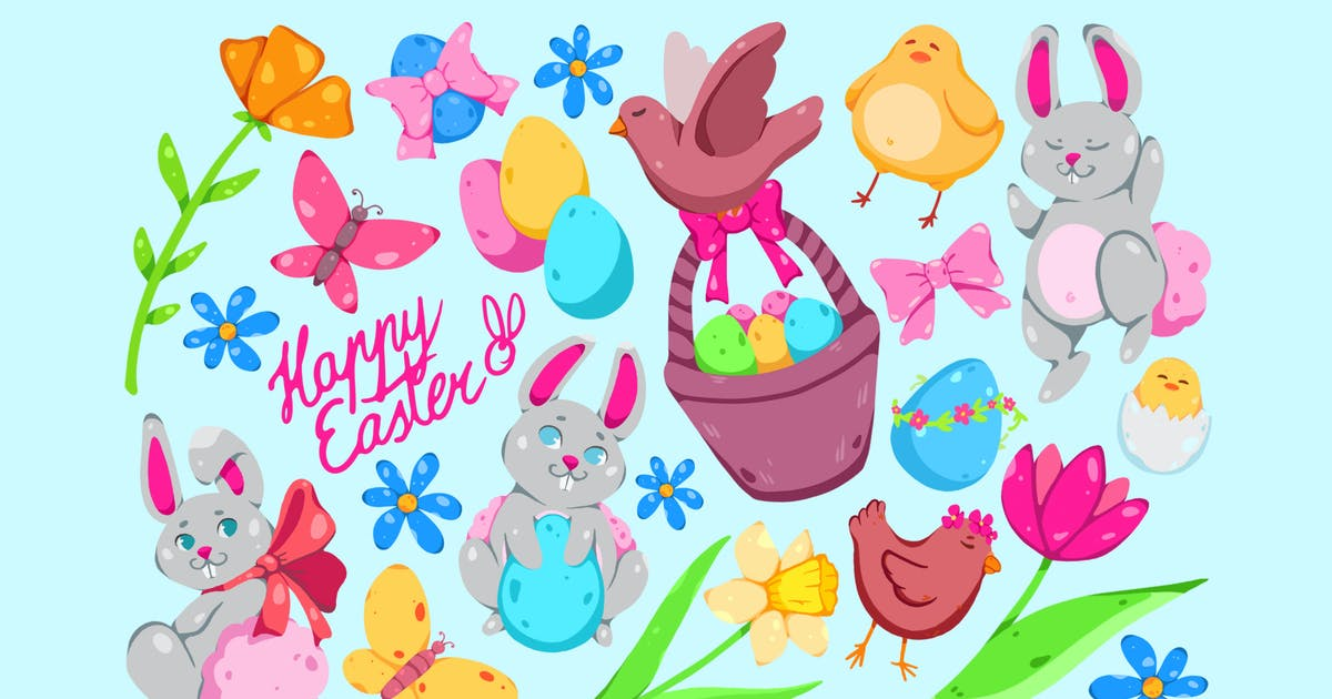Download Fluffy Easter Clipart by Jumsoft