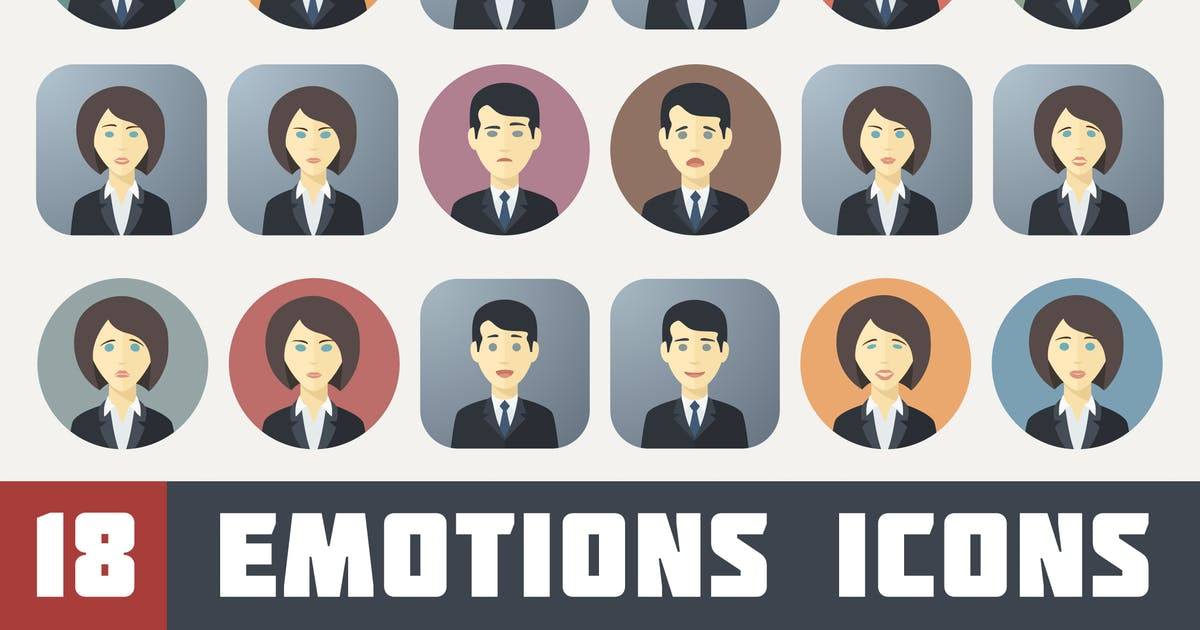 Download Emotions Icons Set by MastakA