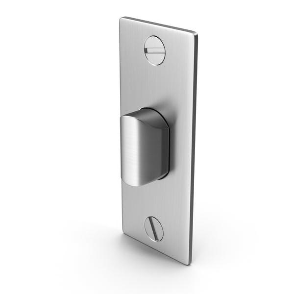 Защелка дверного замка с винтом